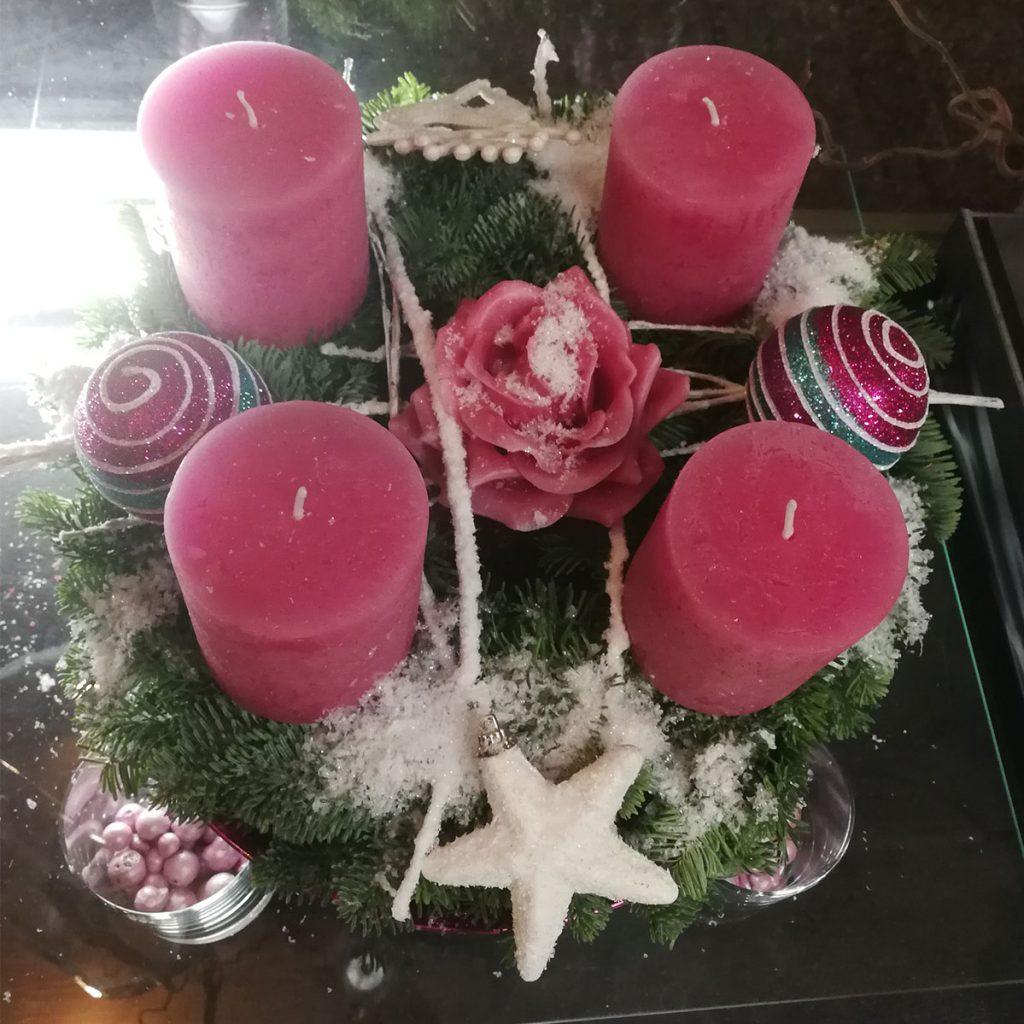 Saison Adventszeit Floristik Nierstein